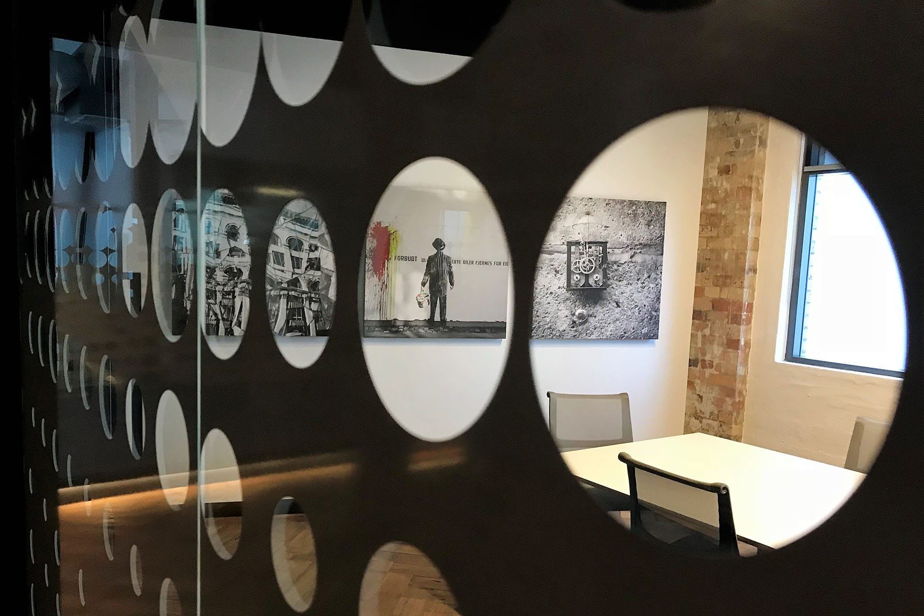 Create It Constructions. Limestore – Commercial Office Fitout. Building Refurbishment. Construction Fitout. Office Fitout. Office Refurbishment. Building Fitout. Longland Street - Newstead. Boardroom. Meeting Room. Glass Decals. Hardwood Floor.