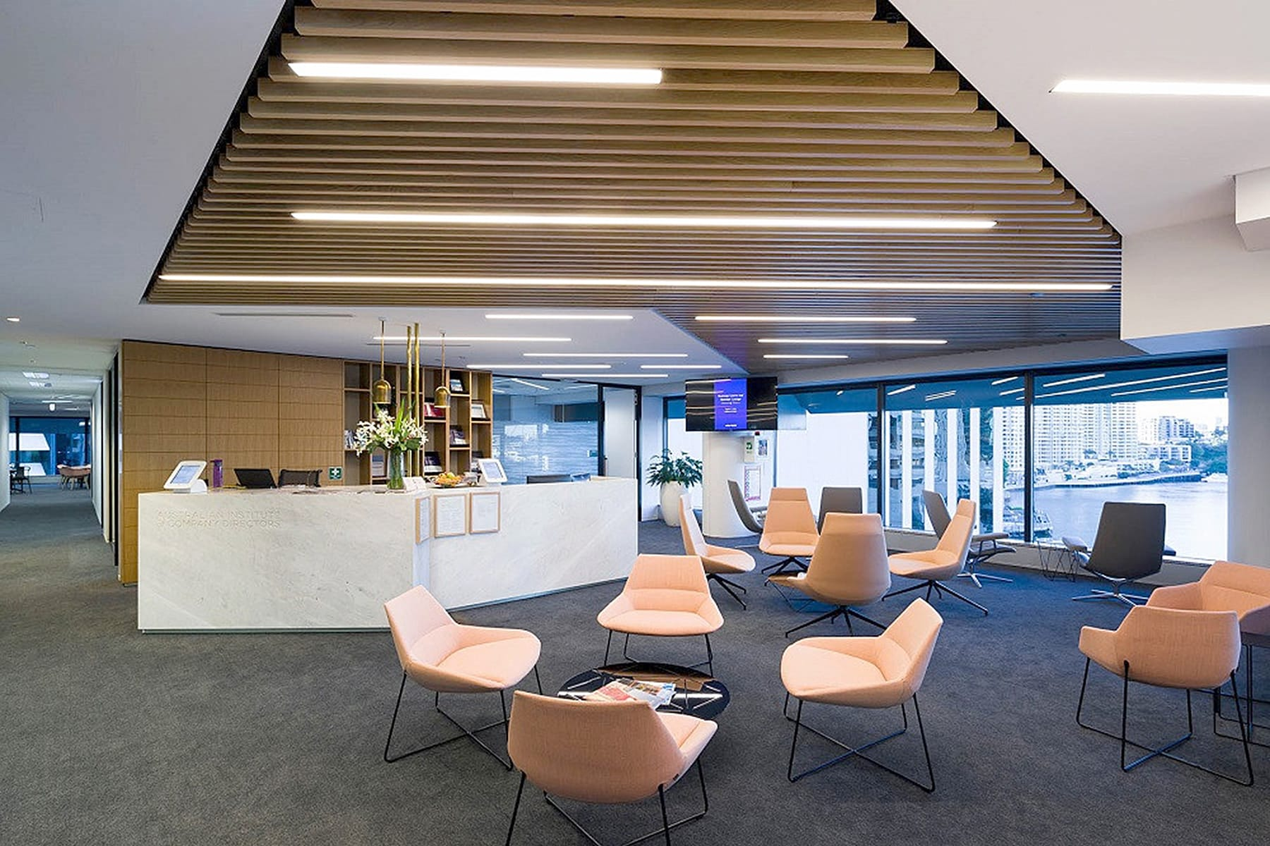Create It Constructions. Australian Institute of Company Directors AICD – Commercial Office Fitout. Riverside Centre - Brisbane.
