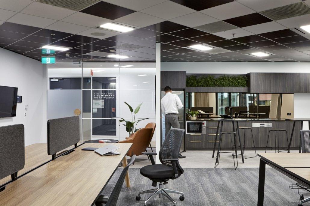 Create It Constructions. Dexus – Commercial Office Fitout. Waterfront Place - Brisbane.