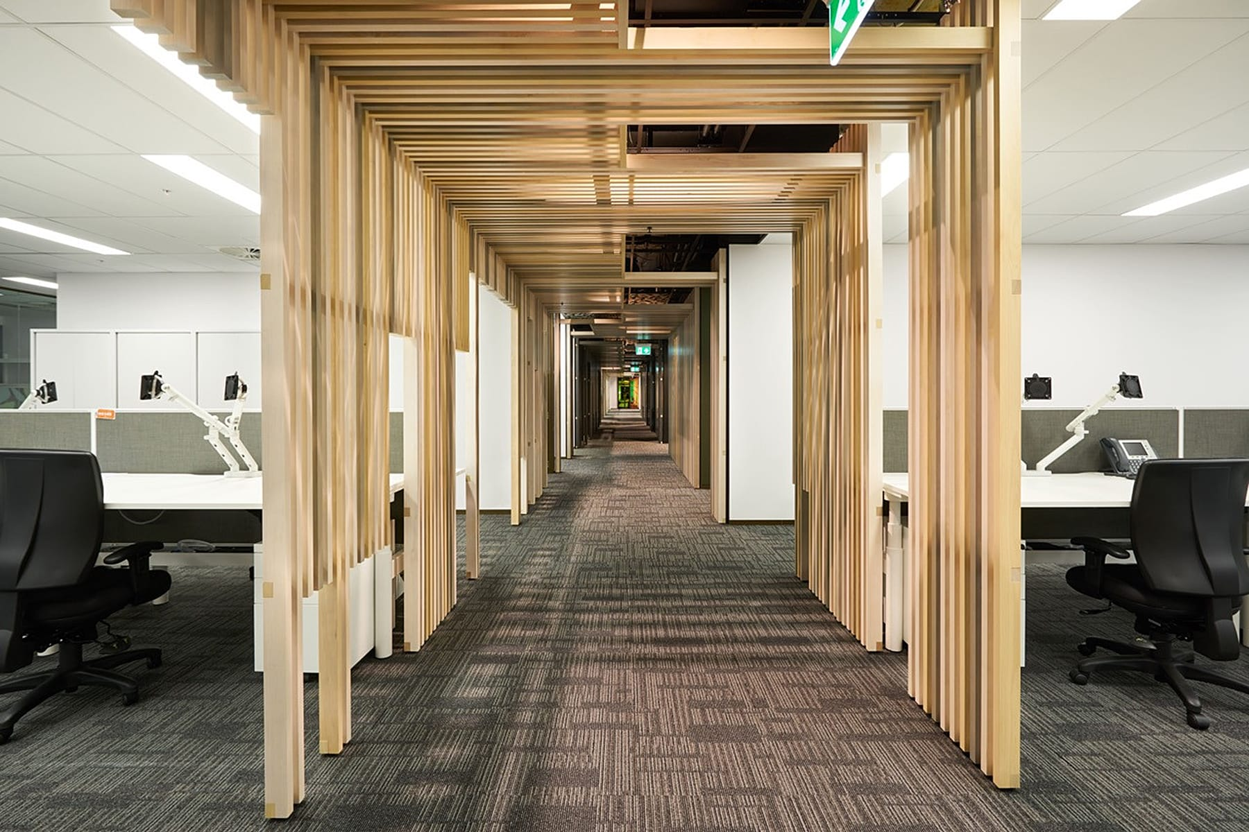 Office fit out, Brisbane