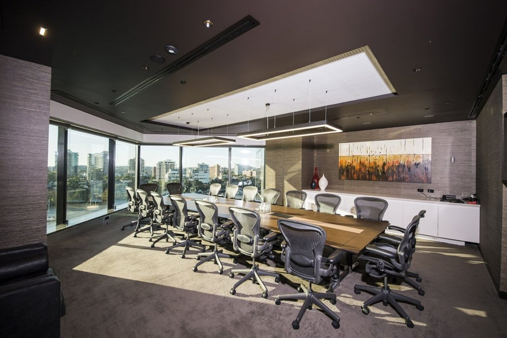 Create It Constructions. Hopgood Ganim Layers – Commercial Office Fitout. Waterfront Place - Brisbane.