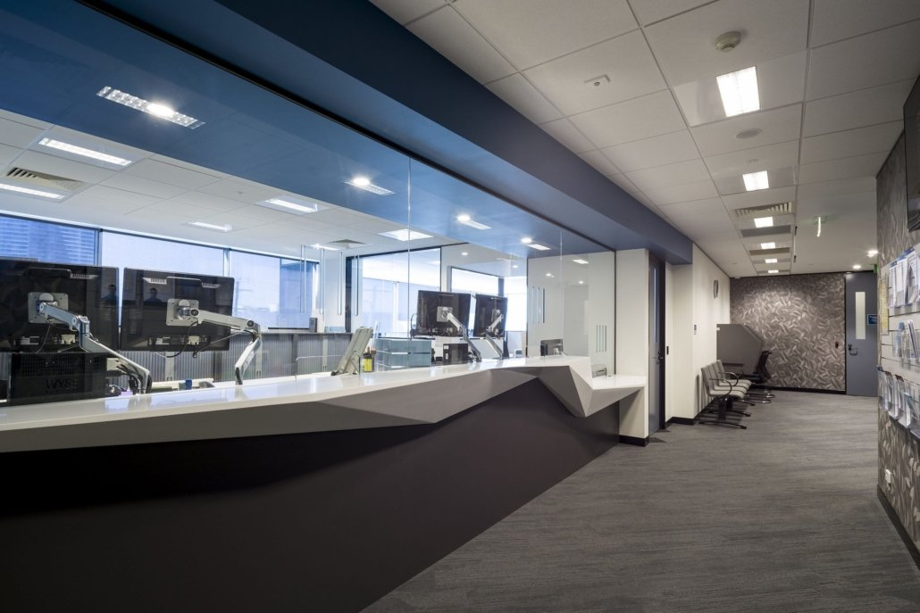 Create It Constructions. Legal Aid Queensland – Government Office Fitout. Bay Street - Southport, Gold Coast.