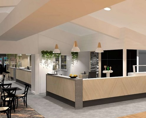 Create It Constructions - Geebung Bowls clubhouse receives $550,000 makeover - October 2019 - Bar Fitout