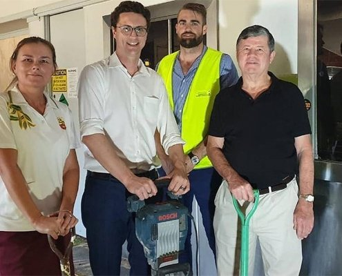 Create It Constructions - Geebung Bowls clubhouse receives $550,000 makeover - October 2019